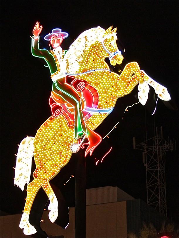 Daily Neon: Old Hacienda Horse Neon Sign : Las Vegas 360