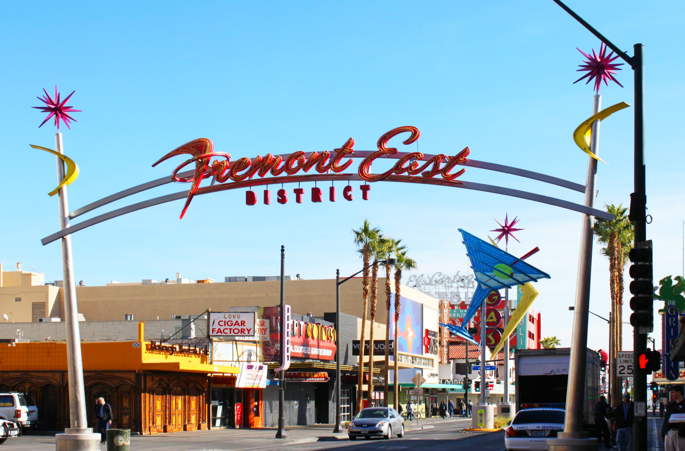 Daily Neon Fremont East District Daytime Las Vegas 360