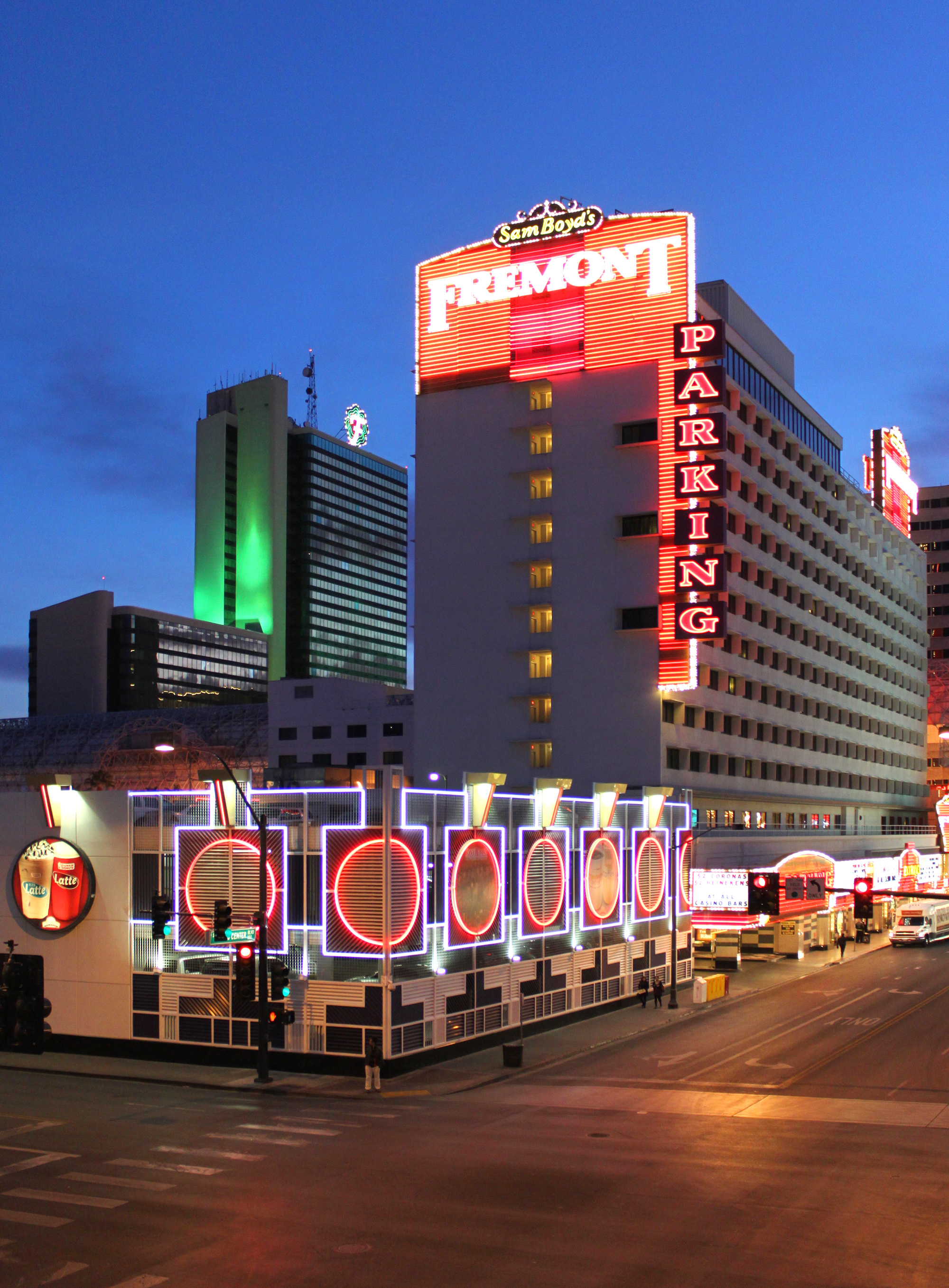 Daily neon fremont hotel casino in downtown las vegas for Daily hotel