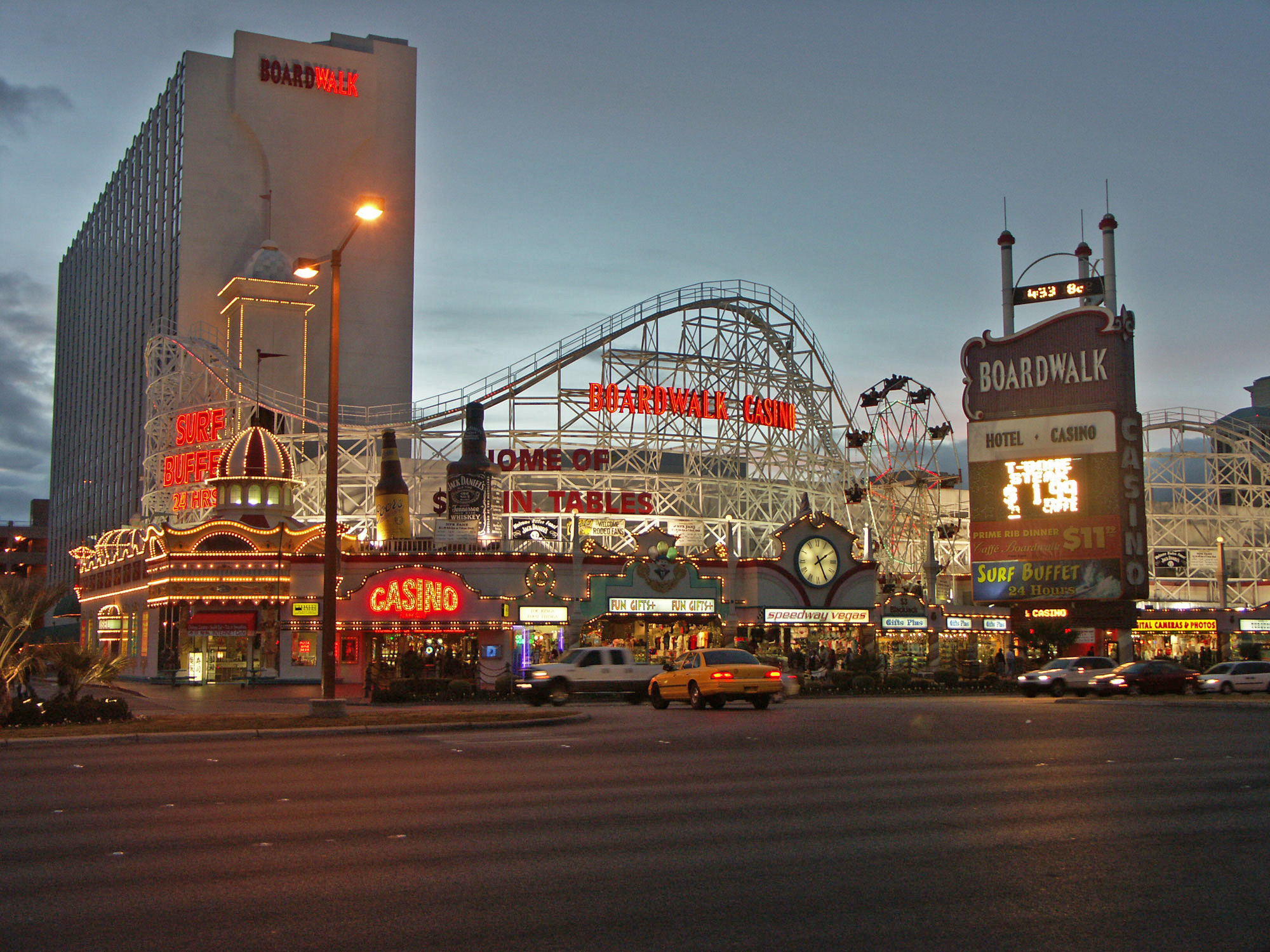 Coney Island Las Vegas Strip