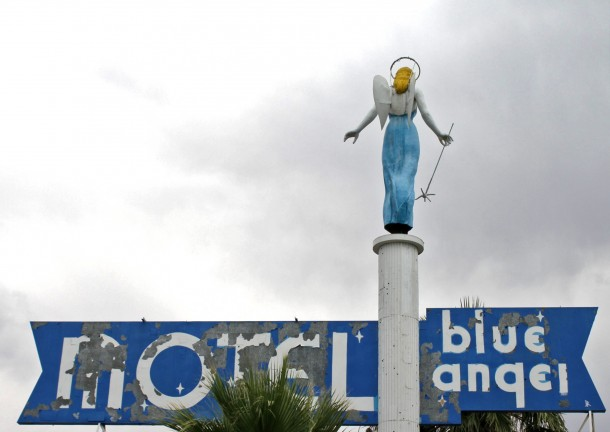 Daily Neon: Blue Angel Motel Sign