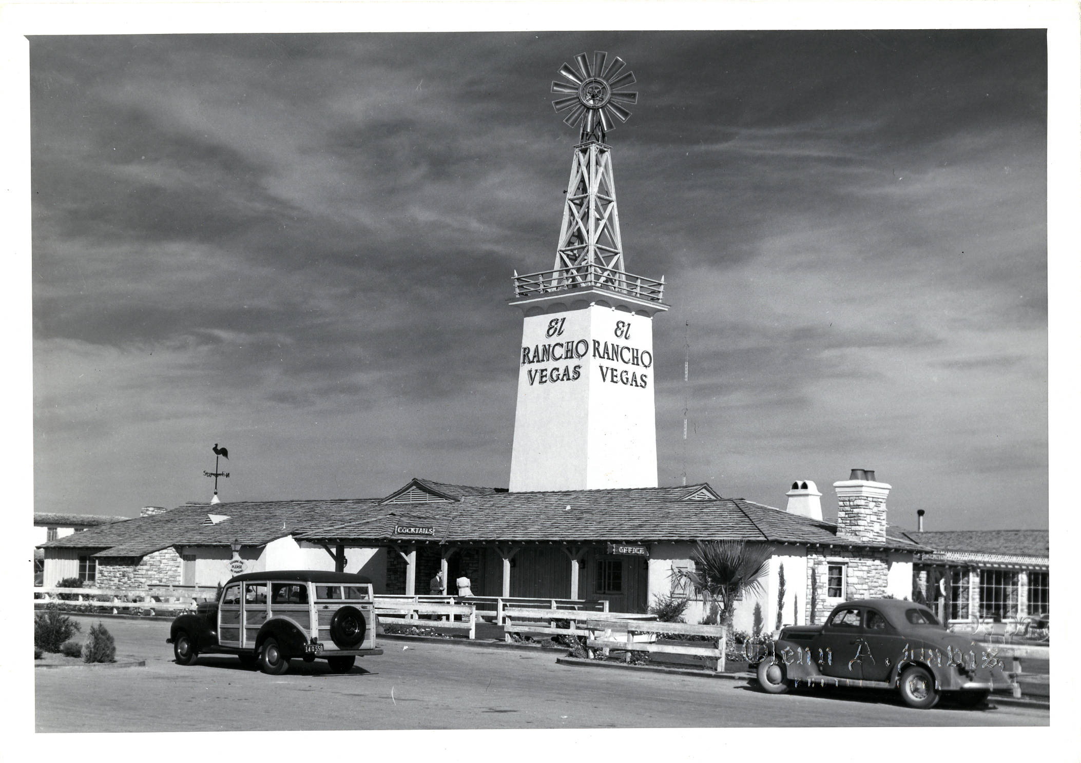 On This Date April 3 1941 The First Resort On The Las